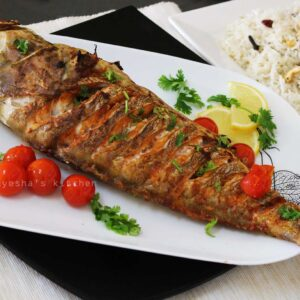 Hamour Fried or Grilled (1kg) / هامور مقلي او مشوي