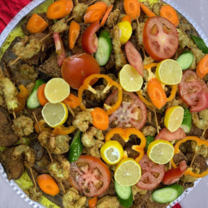 Qatari Style -Tray For 5 Persons / صواني – صحن لعدد 5 اشخاص